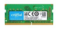 Memory RAM 1x 8GB Crucial SO-DIMM DDR4 2400MHz PC4-19200   CT8G4SFS824A