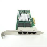 Network Card HPE 593743-001 4x RJ-45 PCI Express 1Gb