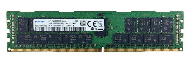 Memory RAM 1x 16GB Samsung ECC REGISTERED DDR4 2Rx4 2666MHZ PC4-21300 RDIMM   M393A2G40EB2-CTD