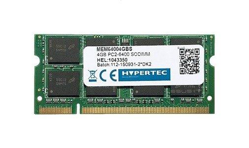 Memory RAM 1x 4GB HYPERTEC SO-DIMM DDR2 800MHz PC2-6400 | MEM64004GBS