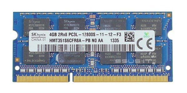 Memory RAM 1x 4GB Hynix SO-DIMM DDR3 1600MHz PC3-12800 | HMT351S6CFR8A-PB