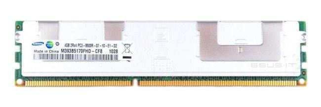 Memory RAM 1x 4GB Samsung ECC REGISTERED DDR3  1066MHz PC3-8500 RDIMM   M393B5170FHD-CF8