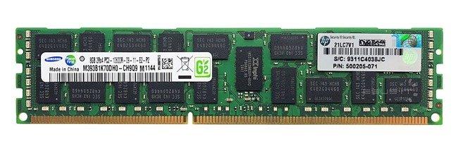 Memory RAM 1x 8GB Samsung ECC REGISTERED DDR3  1333MHz PC3-10600 RDIMM   M393B1K70DH0-CH9